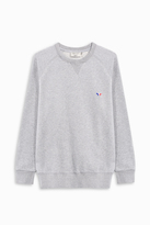 MAISON KITSUNÉ Tricolour Fox Patch Jumper