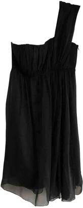 Philosophy di Alberta Ferretti Black Silk Dress for Women Vintage