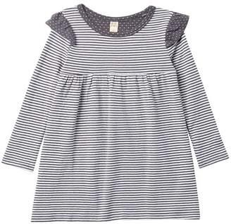 Harper Canyon Double Knit Ruffle Dress (Toddler, Little Girls, & Big Girls)