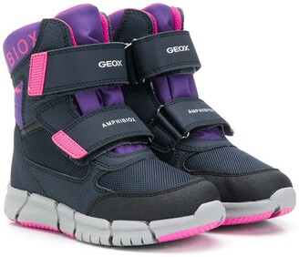 Geox Kids Waterproof Amphibiox Technology ankle boots