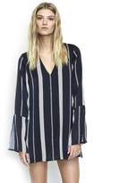 Faithfull The Brand Harper Tunic Dress in London Reverse