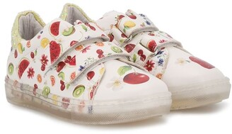 MonnaLisa Summer Fruits low-top sneakers