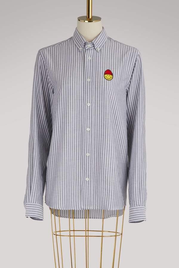 Ami Cotton Smiley shirt