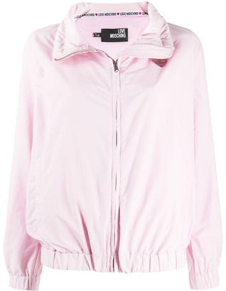 Love Moschino Zipped Raincoat