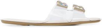 Rodo Crystal-Embellished Sandals