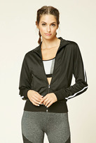 Forever 21 FOREVER 21+ Active Athletic Track Jacket