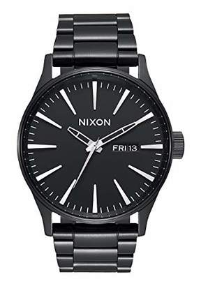 Nixon Sentry SS A356001-00. All Men's Watch (42mm Watch Case. 23-20mm Stainless Steel Band)