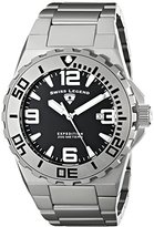 Swiss Legend Men's 10008-11-SB Expedition Analog Display Swiss Quartz Silver Watch