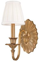 "Hudson Valley Lighting Valley Empire Aged Brass 12 3/4"" High Wall Sconce"