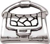 Persona Sterling Silver Purse Charm fits Pandora, Troll & Chamilia European Charm Bracelets
