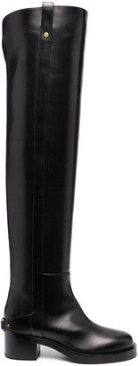Valentino VLOGO TroopUp knee-high boots