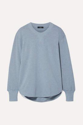 Bassike Net Sustain Organic Cotton-jersey Sweatshirt - Light blue