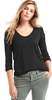 Gap Softspun knit tunic top