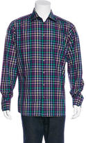 Eton Plaid Dress Shirt w/ Tags