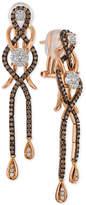 LeVian Le Vian Chocolatier Diamond Drop Earrings (1-1/4 ct. t.w.) in 14k Rose Gold