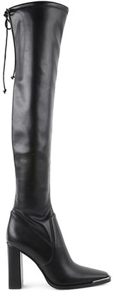 BCBGeneration Faux Leather Knee-High Boots