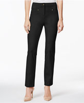 Charter Club Tummy-Control Slim-Leg Ankle Pants, Only at Macy's