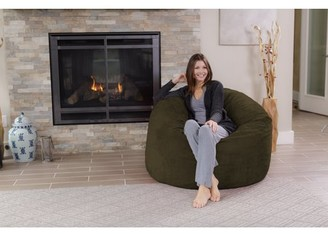 Chill Sack 4 ft Memory Foam Bean Bag Chair, Multiple Colors/Fabrics