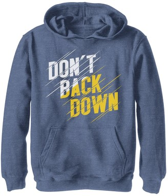 Fifth Sun Boys 8-20 Don't Back Down Quote Graphic Hoodie