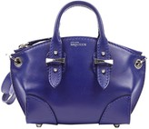 Alexander McQueen Legend Blue Leather Handbags