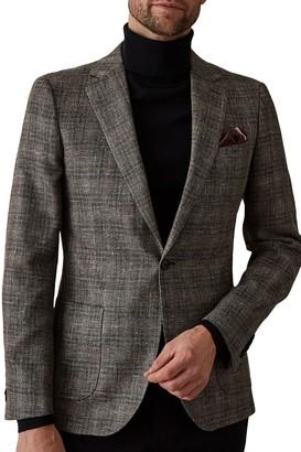 Reiss Glade Notch Collar Single Button Jacket