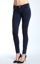Mavi Jeans Serena Super Skinny In Indigo Patch-Out Jegging