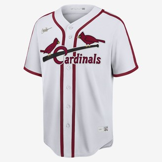 Nike Men's Cooperstown Baseball Jersey MLB St. Louis Cardinals (Ozzie Smith)