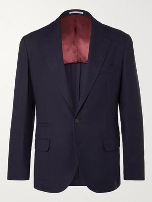 Brunello Cucinelli Unstructured Cashmere And Silk-Blend Blazer