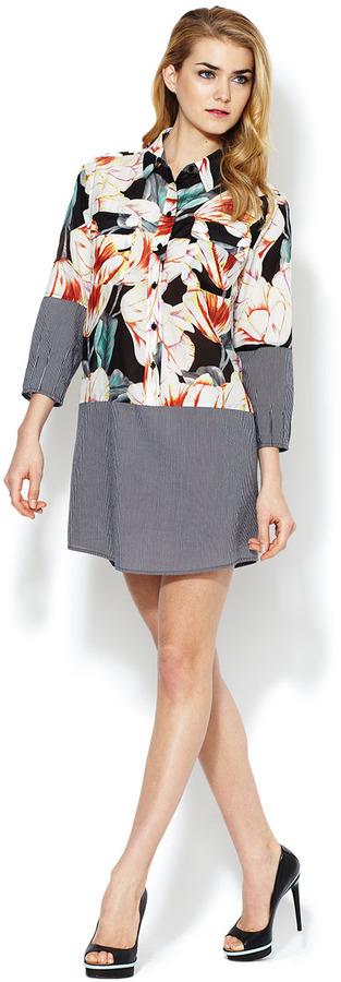 Corey Lynn Calter Paris Floral Shirtdress