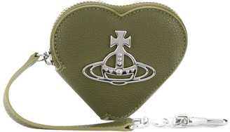 Vivienne Westwood Heart Logo Plaque Wallet