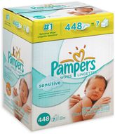 Pampers Sensitive Wipes 448-Count Refill