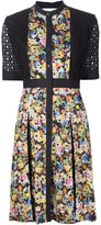 Mary Katrantzou 'Caule' broderie anglaise dress - women - Cotton - 12