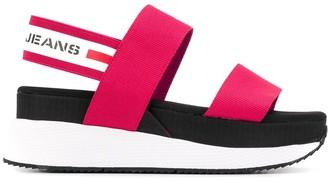 Tommy Hilfiger Chunky Tape platform sandals