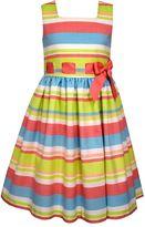 Bonnie Jean Girls Plus Size Striped Dress