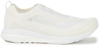 adidas by Stella McCartney Embroidered Mesh And Stretch-knit Sneakers