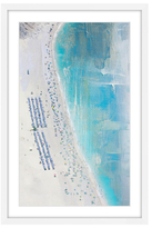 Parvez Taj The Coast by Framed Giclee)