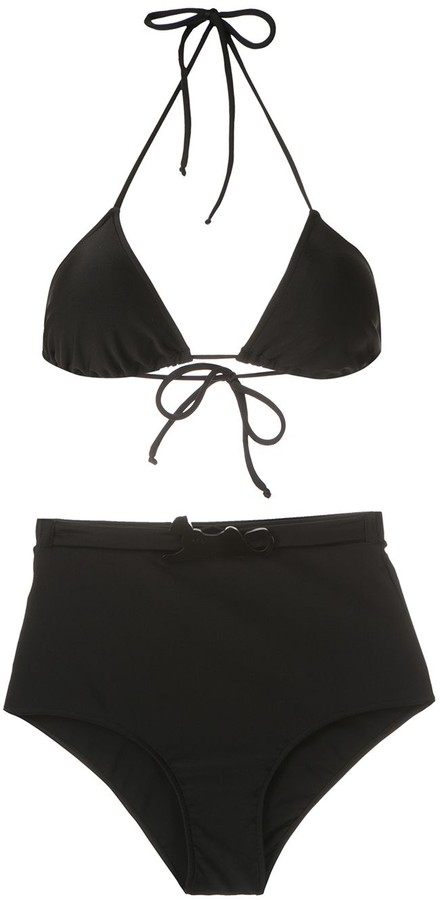 Adriana Degreas Belted Hot Pants Bikini Set