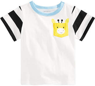 First Impressions Toddler Boys Giraffe-Pocket T-Shirt