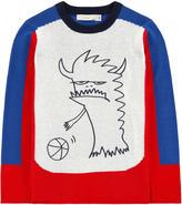 Stella McCartney Graphic cashmere and organic cotton sweater
