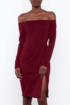 Do & Be Off Shoulder Dress