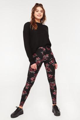 Ardene Super Soft Floral Leggings