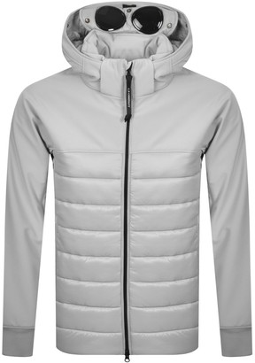 C.P. Company Hooded Padded Jacket Grey