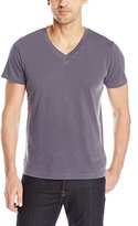 Splendid Mills Men's Pigment Basic V-Neck T-Shirt