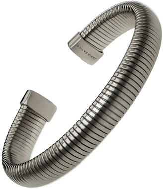 Janis Savitt Open Medium Cobra Cuff Bracelet - Black Gold