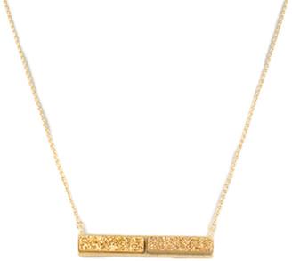 Rivka Friedman 18K Clad Druzy Necklace