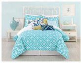 Trina Turk Trellis Comforter Set - Turquoise - Queen