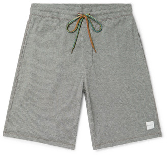 Paul Smith Honeycomb Cotton-Blend Jersey Drawstring Shorts