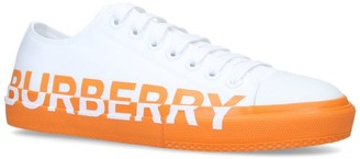 Burberry Leather Logo Sneakers