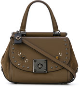 Coach studded tote - women - Calf Leather/metal - One Size