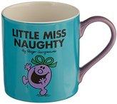 Mr Men & Little Miss Mr Men Little Miss Naughty Mug, Turquoise
